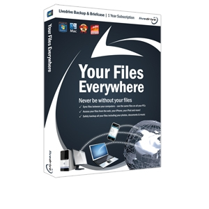 Livedrive Backup &amp; Briefcase - 1 Year Description