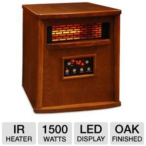 LifeSmart 1500 Watt 4 Element Quartz  IR Heater