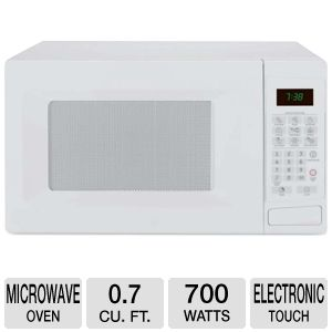 Sunbeam 0.7 cu ft 700 Watts White Microwave Oven