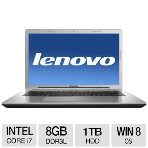 Lenovo Z710 Notebook - Core i7, 8GB, 17.3""