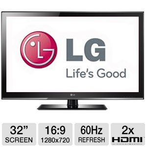 "LG 32"" 720p 60Hz LCD HDTV Refurbished"