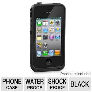 LifeProof Black Case For iPhone 4/4S