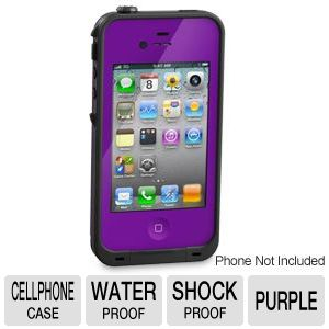 LifeProof Purple Case For iPhone 4/4S