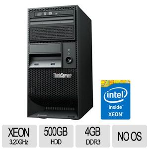 Lenovo ThinkServer TS140 Intel Xeon E3 5U Server