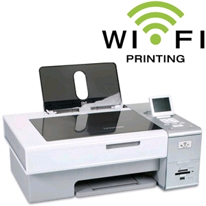 Lexmark X4875 Wireless All-in-One Printer