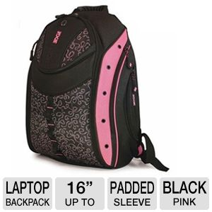 MobileEdge MEBPEX1 Express Backpack - Pink/Black