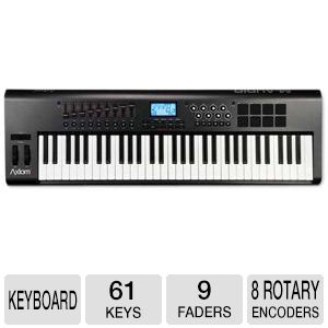 M-Audio Axiom 2nd Generation 61-Key MIDI Keyboard