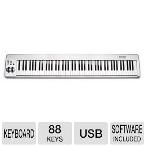 M-Audio KeyStation 88es USB MIDI Keyboard