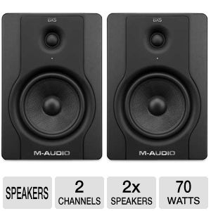 M-Audio BX5 D2 Studio Monitor Speakers