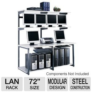 72in e*LAN Heavy Duty Workstation
