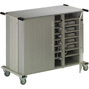 This Storage Cart easily stores and transports up