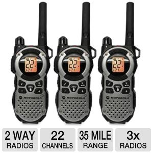 Motorola Talkabout 3 Pack 2-Way Radios