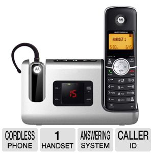 Motorola MOTO-L902 Cordless Phone With Headset