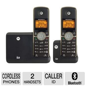 Motorola L512BT Cordless Phone &amp; Answering Machine