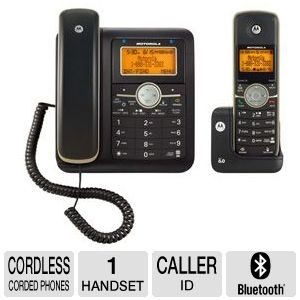 Motorola L512CBT Corded/Cordless Phone