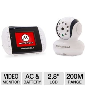 Motorola MBP33 Digital Video Baby Monitor