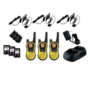Motorola MH230TPR 2-Way Talkabout Radio Set - 3 Pk