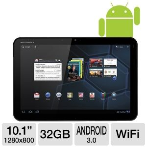 "Motorola Xoom 10"" Android 3.0 WiFi Tablet"