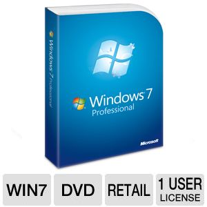 Microsoft Windows 7 Professional - DVD