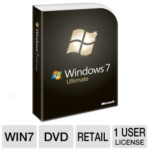 Microsoft Windows 7 Ultimate - DVD