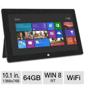 "Microsoft Surface RT 10.1"" 64GB Tablet"