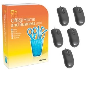Microsoft Office Home and Business 2010 Sui Bundle