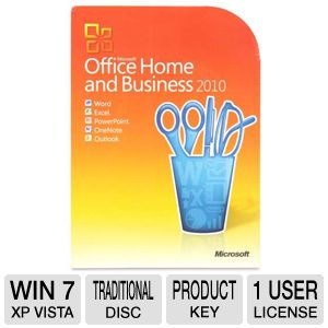 Microsoft Office Home and Business 2010 Suite