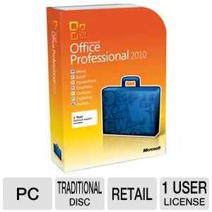 Microsoft Office Professional 2010 Suite