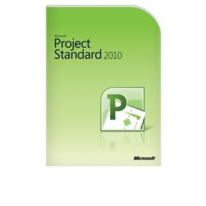 Microsoft Project Standard 2010 Software
