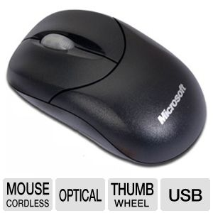 Microsoft U81-00009 Compact Optical Mouse 500