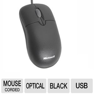 Microsoft P58-00022 Basic Optical Mouse