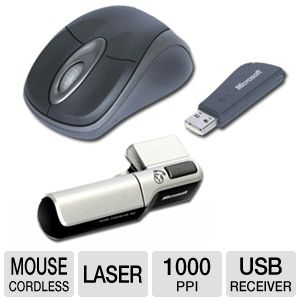 Microsoft MWA-00001 Mobility Pack 3000 Mouse And W