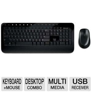 Microsoft Wireless Keyboard and Mouse 2000 Combo