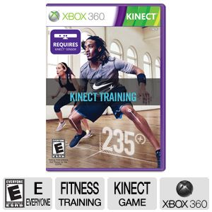 Xbox 360 Nike+ Fitness Training ESRB E Video Game