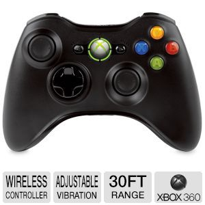 XB360 Wireless Controller-Black [NSF-00023]