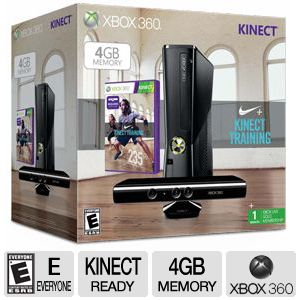 Microsoft Xbox 360 Kinect Nike+ Bundle