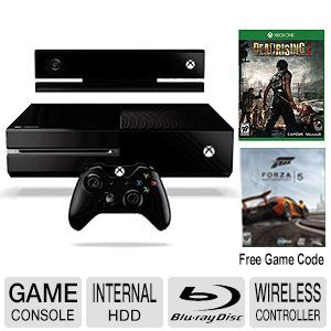 Microsoft XBOX ONE w/ Kinect 2 Game Console Bundle