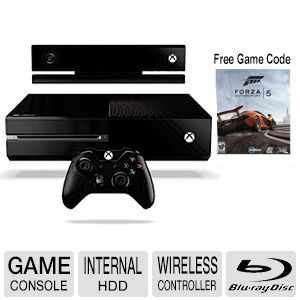 Microsoft Xbox One with Kinect 2 Game Console