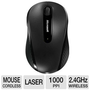Microsoft 4DH-00001 Wireless Mobile Mouse 4000