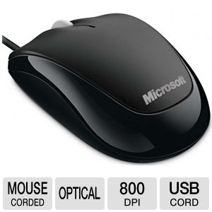 Microsoft 4HH-00001 Compact Optical Mouse