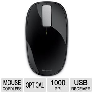 Microsoft U5K-00001 Wireless Explorer Touch Mouse