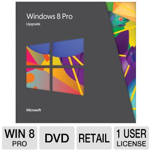 Microsoft Windows 8 Pro - Upgrade Version