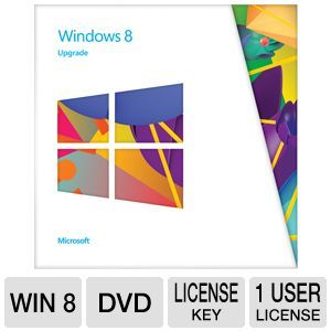 Microsoft Windows 8 Operating System Software Upg