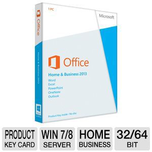 Microsoft Office Home & Business 2013 Product Key