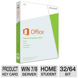 Microsoft Office Home & Student 2013 Product Key