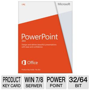 Microsoft PowerPoint 2013 Product Key