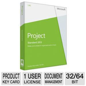 Microsoft Project 2013 Product Key