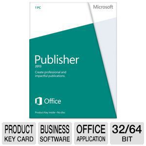Microsoft Publisher 2013 Product Key