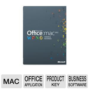 Microsoft Office Mac Home &amp; Business 2011