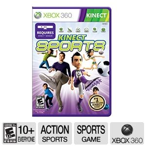 Microsoft Kinect Sports Video Game